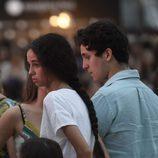Froilán y Victoria de Marichalar en el concierto de Taburete en un evento de moda