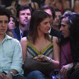 Froilán con su novia y Mario Vaquerizo en el concierto de Taburete en un evento de moda