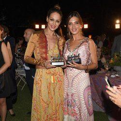 Eva González y Sara Carbonero en los Premios Elle Gourmet 2017