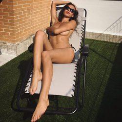 Sofía Suescun haciendo topless