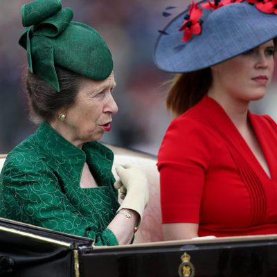 La Princesa Ana y la Princesa Eugenia en Ascot 2017