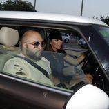 Irene Rosales y Kiko Rivera llegando al concierto de Isabel Pantoja en Sevilla