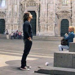 Belén Esteban y Toño Sanchís en Milán