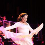 Isabel Pantoja durante su concierto en Sevilla