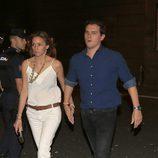 Albert Rivera y su novia Beatriz Tajuelo en el concierto 'Más es Más'