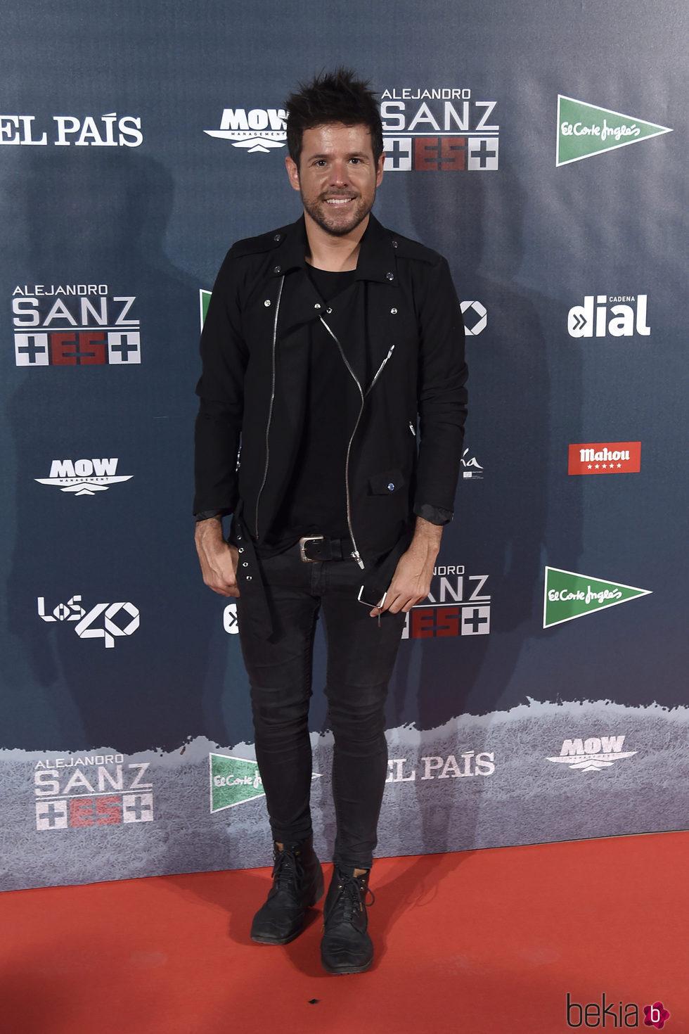 Pablo López en el concierto de Alejandro San 'Más es más' en Madrid