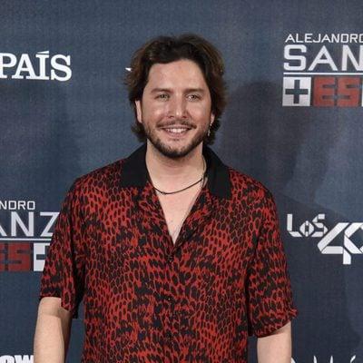 Manuel Carrasco en el concierto de Alejandro San 'Más es más' en Madrid