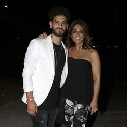 Raquel Bollo y Manuel Cortés en el concierto de Isabel Pantoja en Sevilla