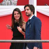 Carlota Casiraghi y Dimitri Rassam en el concurso de saltos de Mónaco 2017