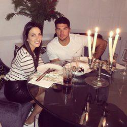 Irene Junquera y Cristian Toro de cena romántica