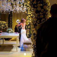 La ternura de Antonella Roccuzzo y Leo Messi el día de su boda