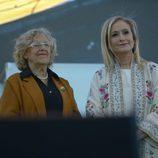 Manuela Carmena y Cristina Cifuentes en World Pride 2017
