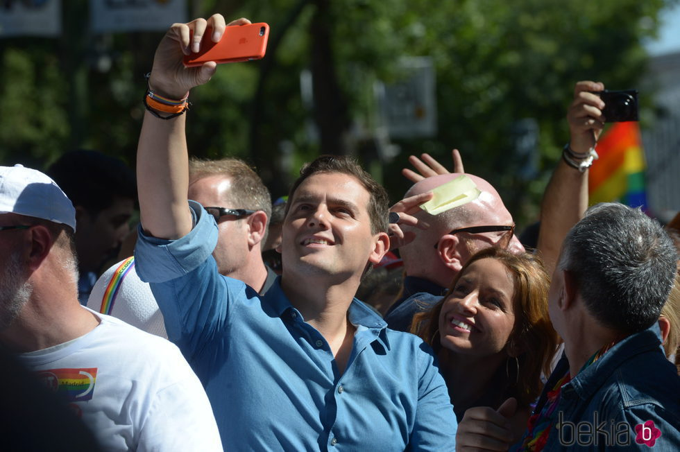 Albert Rivera en el World Pride 2017