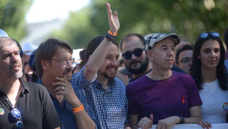 Pablo Iglesias en el World Pride 2017