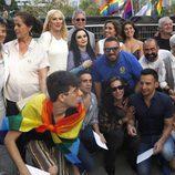 Ducleida, Amenábar, Javier Calvo y otros famosos en el World Pride 2017