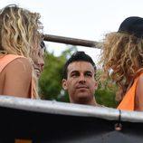 Mario Casas en la cabalgata en el World Pride 2017