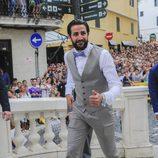 Ricky Rubio en la boda de Sergio Llul y Almudena Cánovas