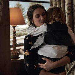 Tatiana Santo Domingo posando con su hijo Sasha