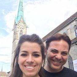 Cristian Castro y Carolina Victoria Urban en Zurich