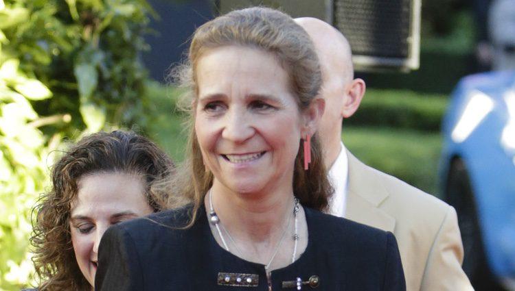 La Infanta Elena en la celebración del 4 de julio en la Embajada de Estados Unidos