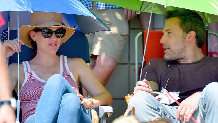 Ben Affleck y Jennifer Garner disfrutan del 4 de julio en Los Ángeles
