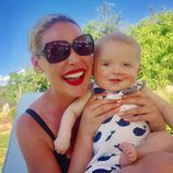 Katherine Heigl disfruta con su bebé del 4 de julio