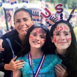 Soleil Moonfrye celebra en familia el 4 de julio