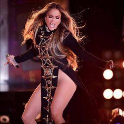 Jennifer Lopez sin ropa interior en un concierto en Nueva York