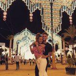 Rodri y Bea disfrutando de la feria de Jerez