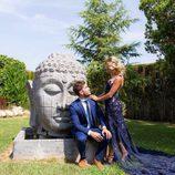 Beatriz y Rodri, en la boda de unos amigos