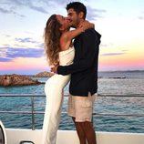 Álvaro Morata y Alice Campello disfrutando del atardecer de Cerdeña