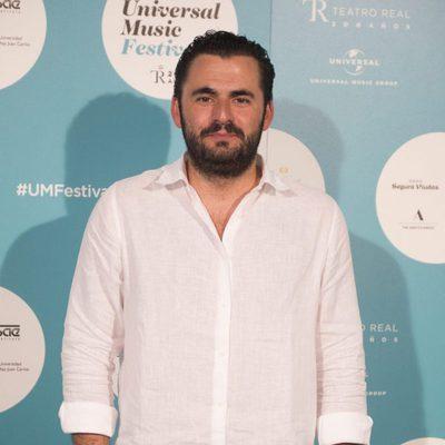 Emiliano Suárez asiste al concierto de Sting en Madrid