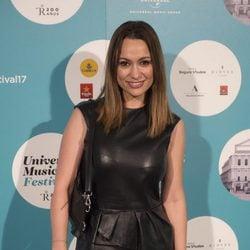 Natalia Verbeke asiste al concierto de Sting en Madrid
