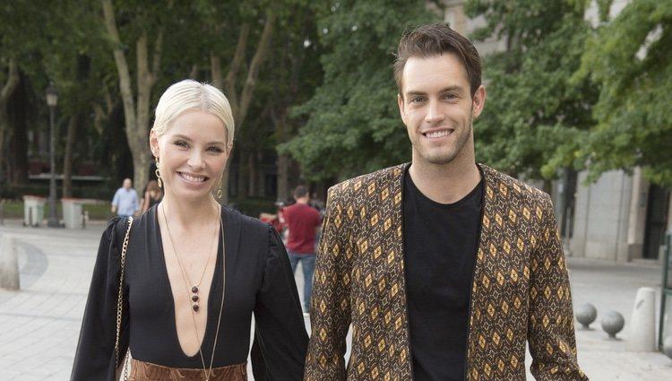 Soraya Arnelas y su novio Miguel Herrera asisten al concierto de Sting en Madrid