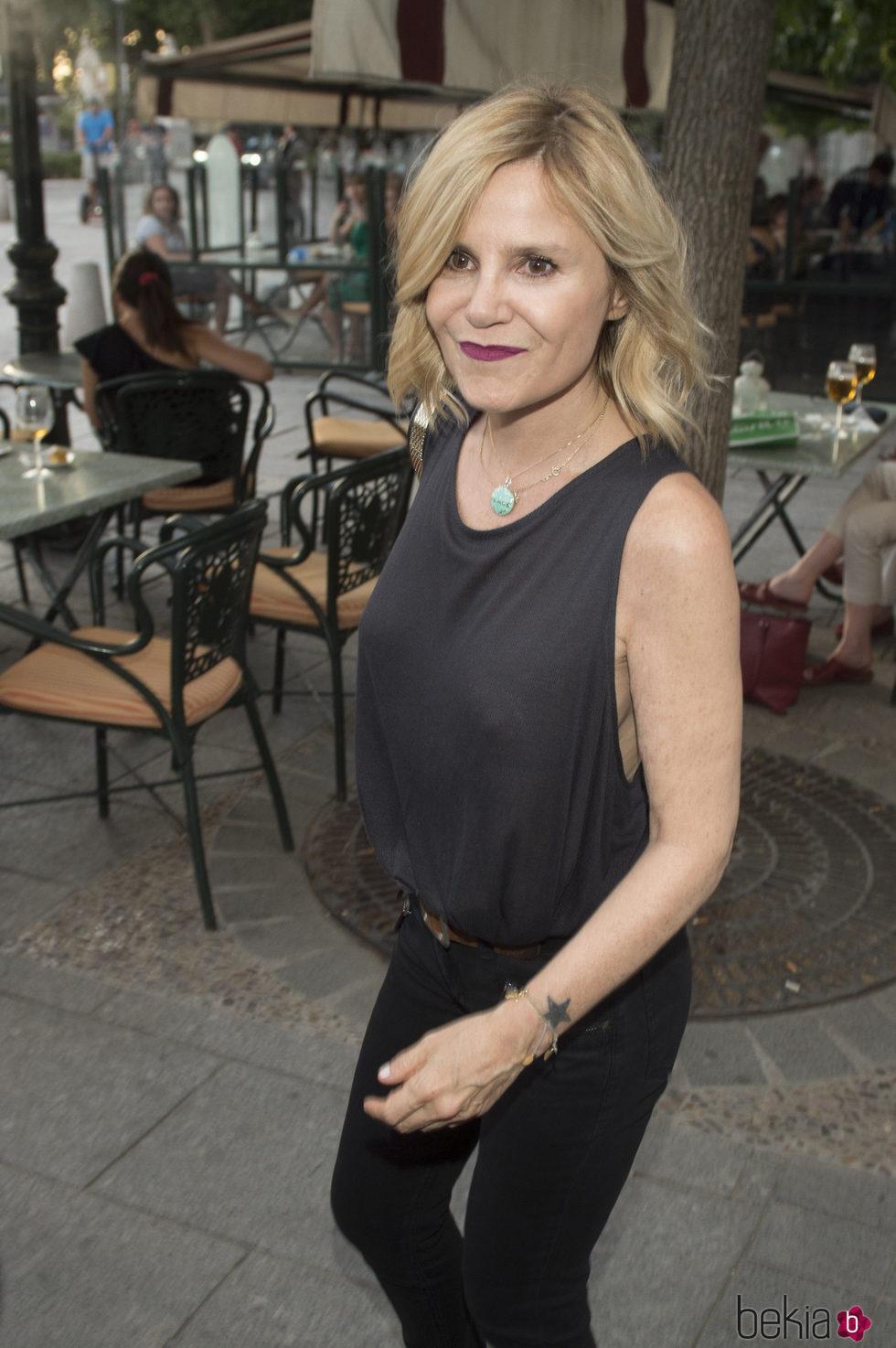 Eugenia Martínez de Irujo asiste al concierto de Sting en Madrid