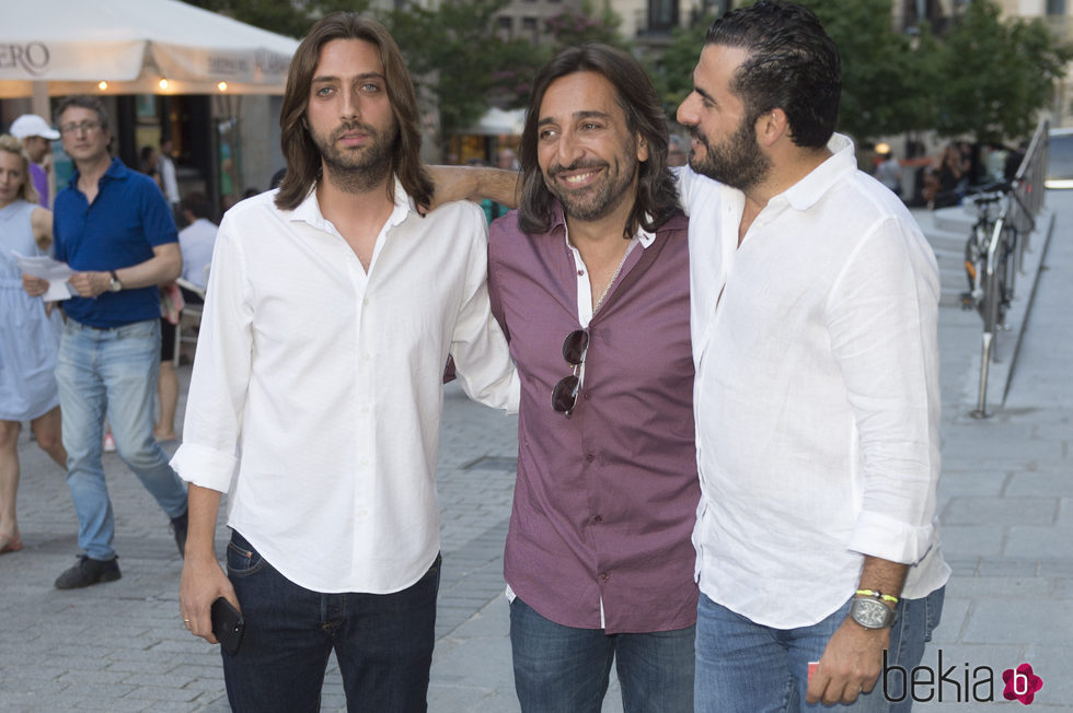 Antonio Carmona y Emiliano Suárez asisten juntos al concierto de Sting en Madrid