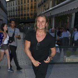 Nacho Cano asiste al concierto de Sting en Madrid