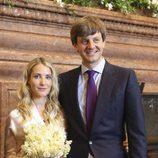Ernst August de Hannover y Ekaterina Malysheva en su boda civil