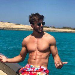 Marco Ferri durante sus vacaciones de verano en Formentera