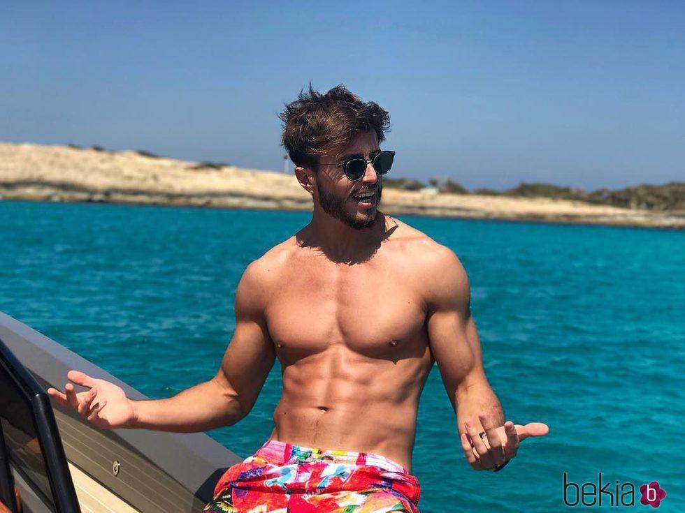 Marco Ferri durante sus vacaciones de verano en Formentera - Los ...