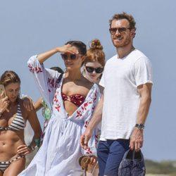 Michael Fassbender y Alicia Vikander en las playas de Formentera