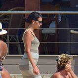 Georgina Rodríguez luciendo silueta en Ibiza