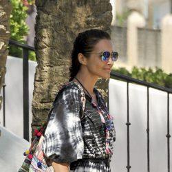 Paula Echevarría de paseo por Marbella