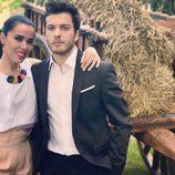 Beatriz Luengo y Blas Cantó en una boda