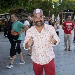 José Corbacho en el concierto de Pet Shop Boys de Madrid