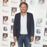 Juan Peña en la presentación del libro de Terelu Campos