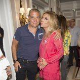 Lydia Lozano y Gustavo González en la presentación del libro de Terelu Campos