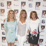 Carmen Borrego, Terelu Campos y María Teresa Campos en la presentación del libro 'Frente al espejo'