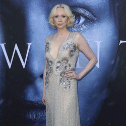 Gwendoline Christie en el estreno de la séptima temporada de 'Juego de Tronos'