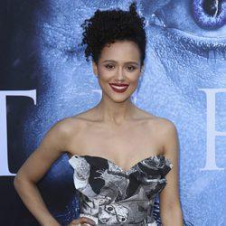 Nathalie Emmanuel en el estreno de la séptima temporada de 'Juego de Tronos'